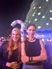 Angie Taddei y Celina del Villar Swarovski
