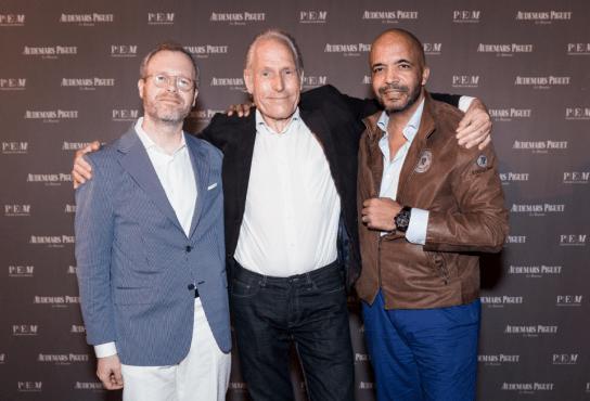 Xavier Nolot, Theo Jansen, Olivier Audemars
