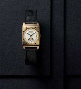 1949 JACQUES-DAVID LECOULTRE CALENDAR WATCH.