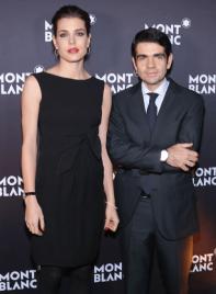 Jérôme Lambert y Charlotte Casiraghi