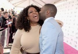 Oprah Winfrey y David Oyelowo.