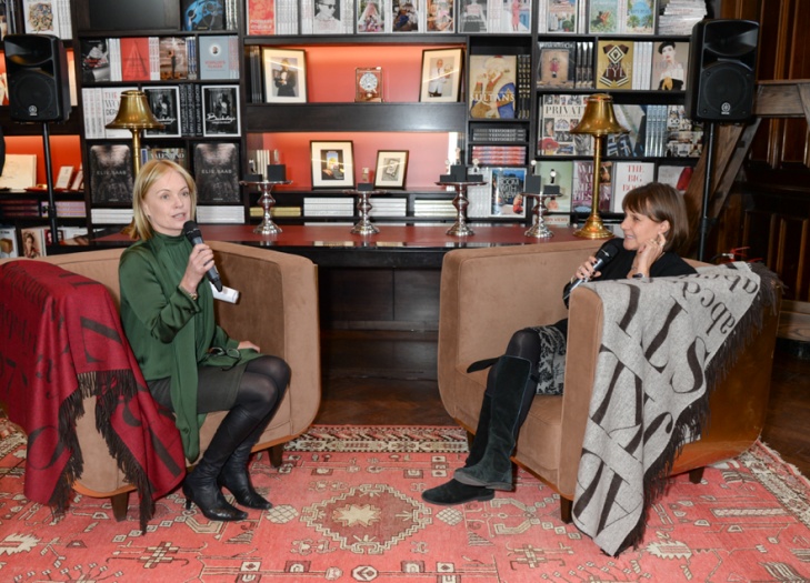 Marielle Frostrup and Lucinda Syson