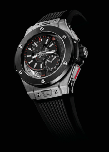 HUBLOT ALARM GMT