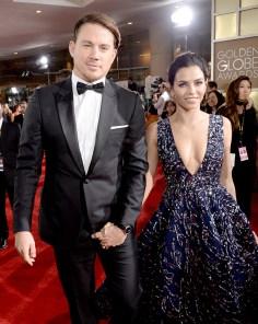 Channing Tatum y Jenna Dewan Tatum (Getty Images)