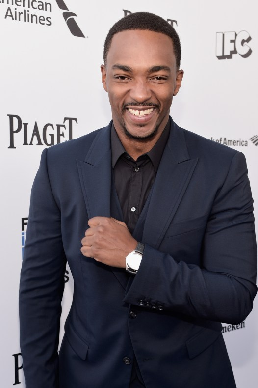 SANTA MONICA, CA - FEBRUARY 27: Actor Anthony Mackie attends the 2016 Film Independent Spirit Awards sponsored by Piaget on February 27, 2016 in Santa Monica, California. (Photo by Stefanie Keenan/Getty Images for Piaget) *** Local Caption *** Anthony Mackie