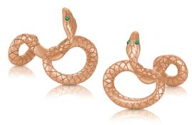 Montblanc_red gold cufflinks_emerald_ident115624