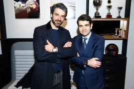 Luca Argentero y Jerome Lambert.