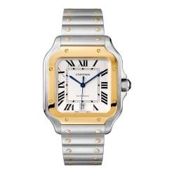 Santos_de_Cartier_LM_yellow gold & steel_W2SA0006