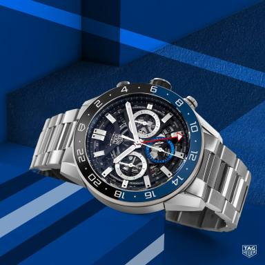 TAG Heuer Carrera Chronograph GMT-3