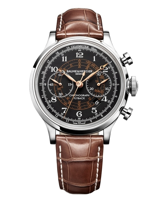 SIHH 2012 Preview: Baume & Mercier Capeland Flyback Chronograph (1/3)