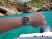 Seamaster Professional on the shores of Thassos Island