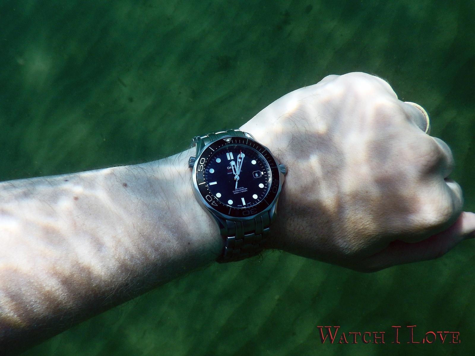 Seamaster Professional deeper water wristshot