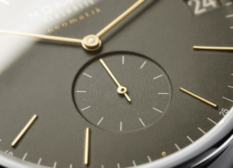 """Orion neomatik represents """"Made in Germany"""" at its best. As does the caliber within: neomatik date, also known as DUW 6101."""