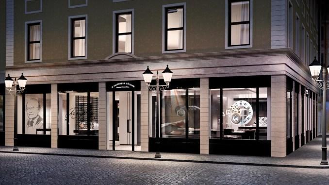 A. Lange & Söhne boutique in Dresden