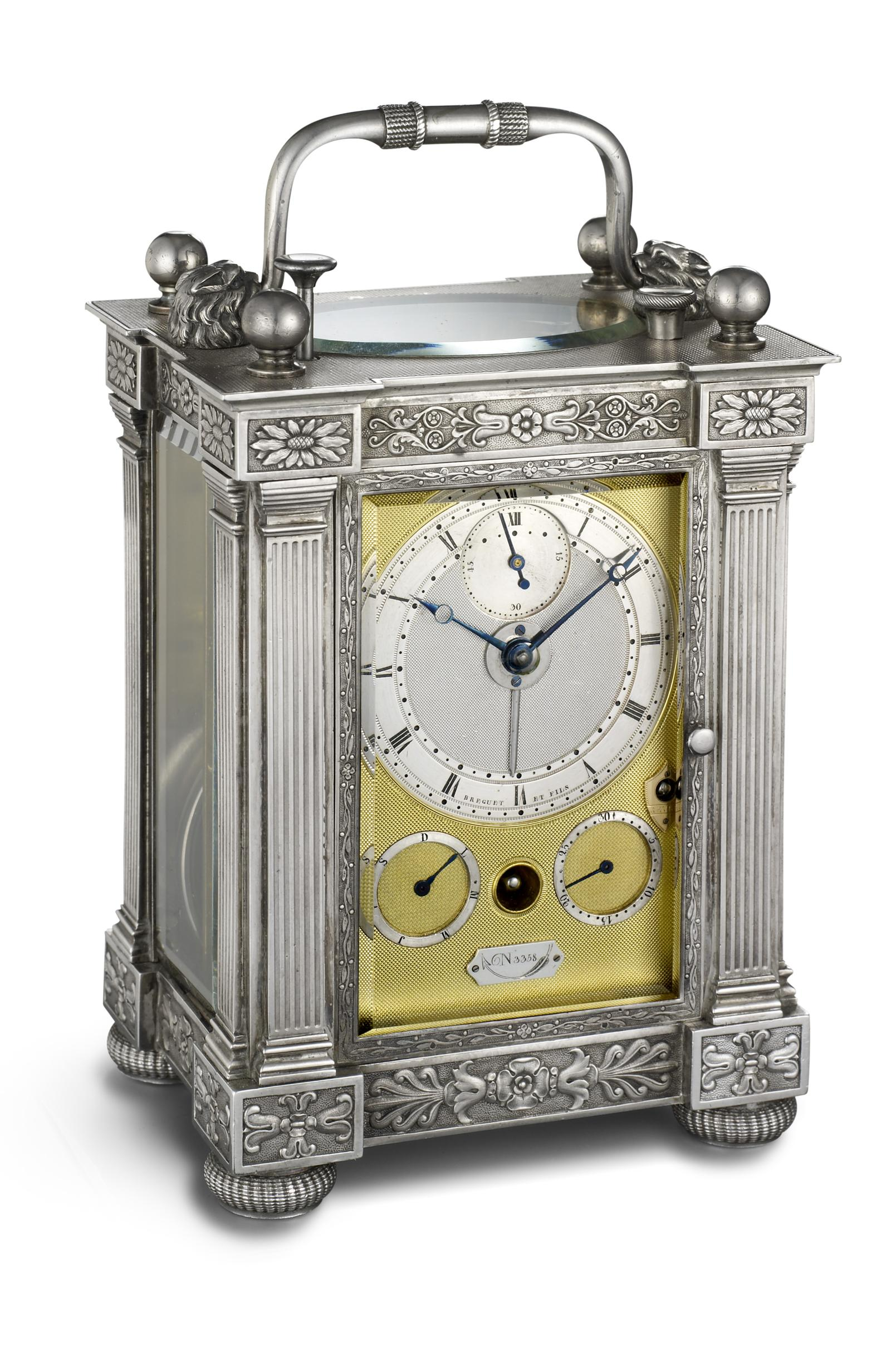 Breguet No. 3358 on display in Moscow Boutique