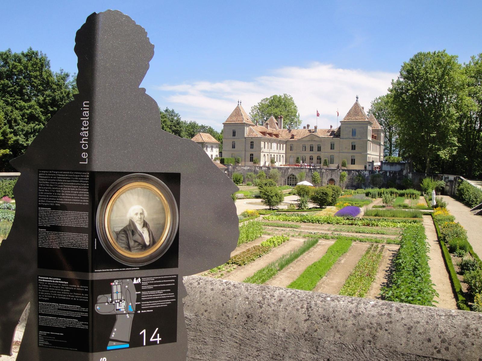 Chateau de Prangins view - Musée National Suisse