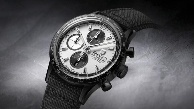Brellum Pandial Black DLC Chronometer