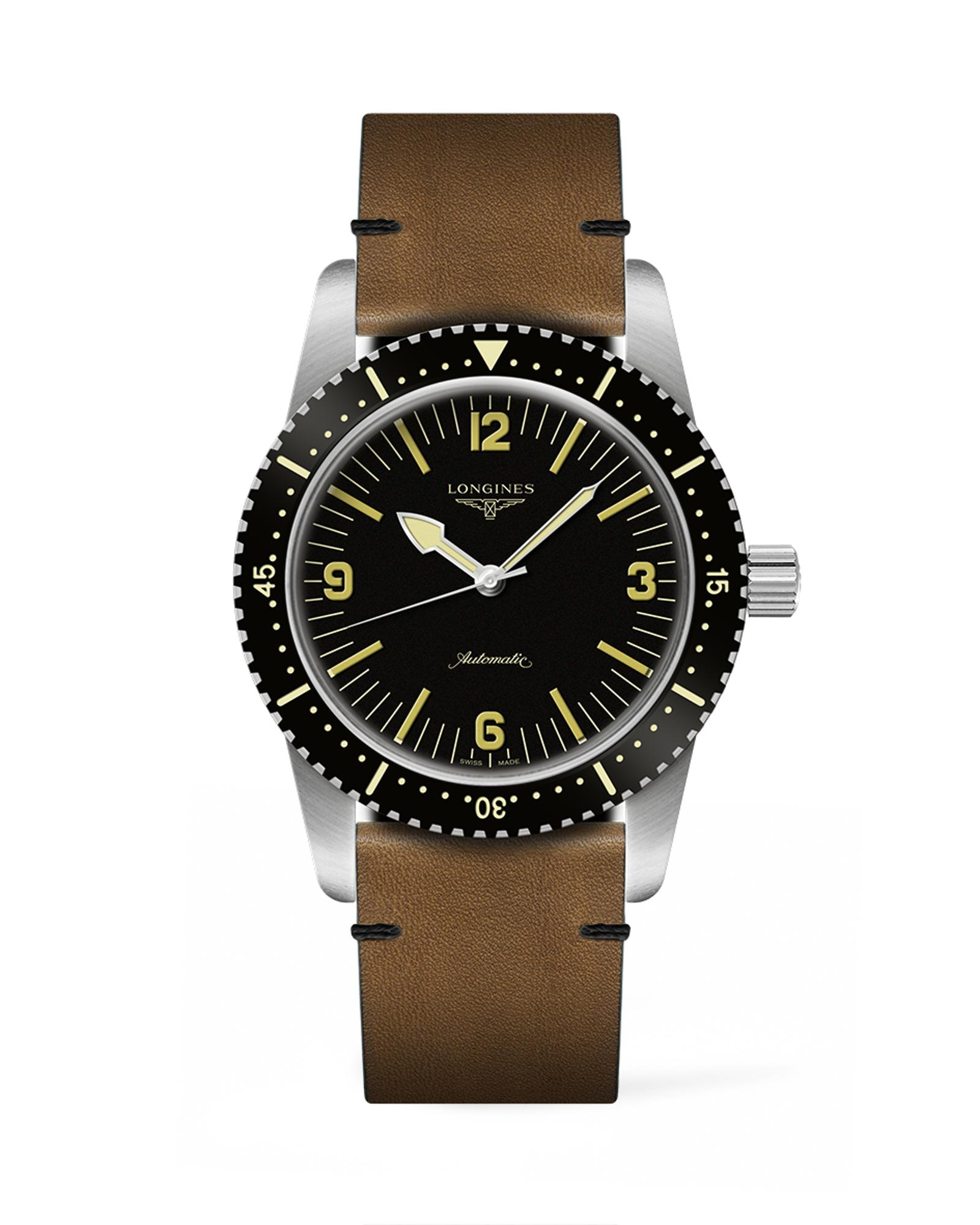 The Longines Skin Diver Watch L2.822.4.56.2