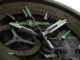 BELL&ROSS BR-X1 Military dial
