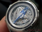 De Bethune DB28GS Grand Bleu dial 2