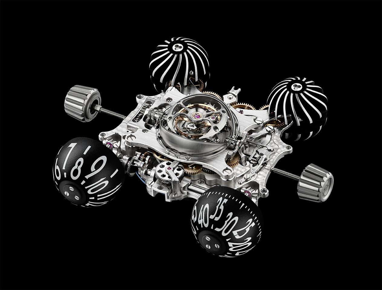 MB&F Horological Machine No.6 Final Edition engine