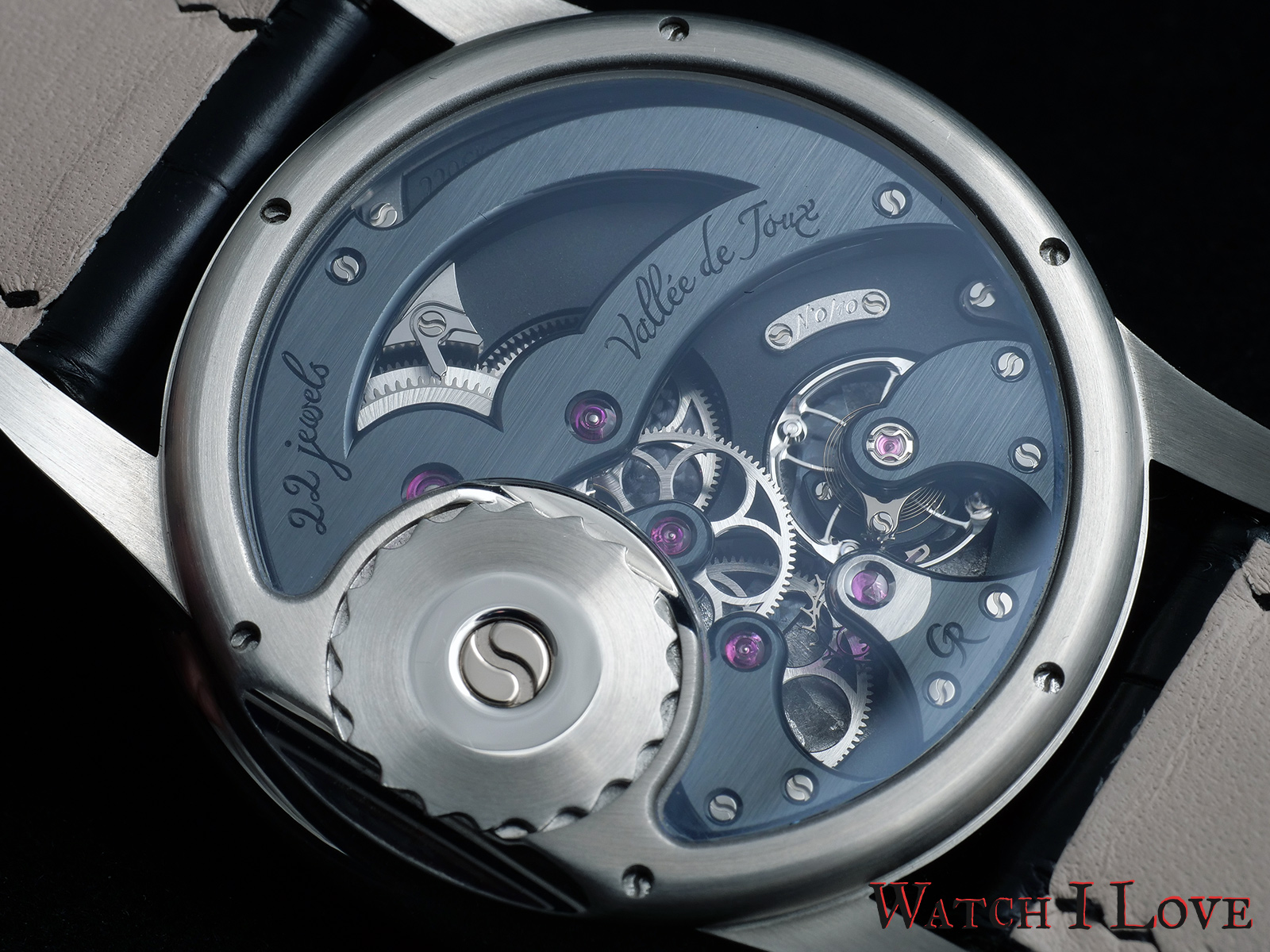 Romain Gauthier Prestige HMS Stainless Steel back Calibre 2206 HMS