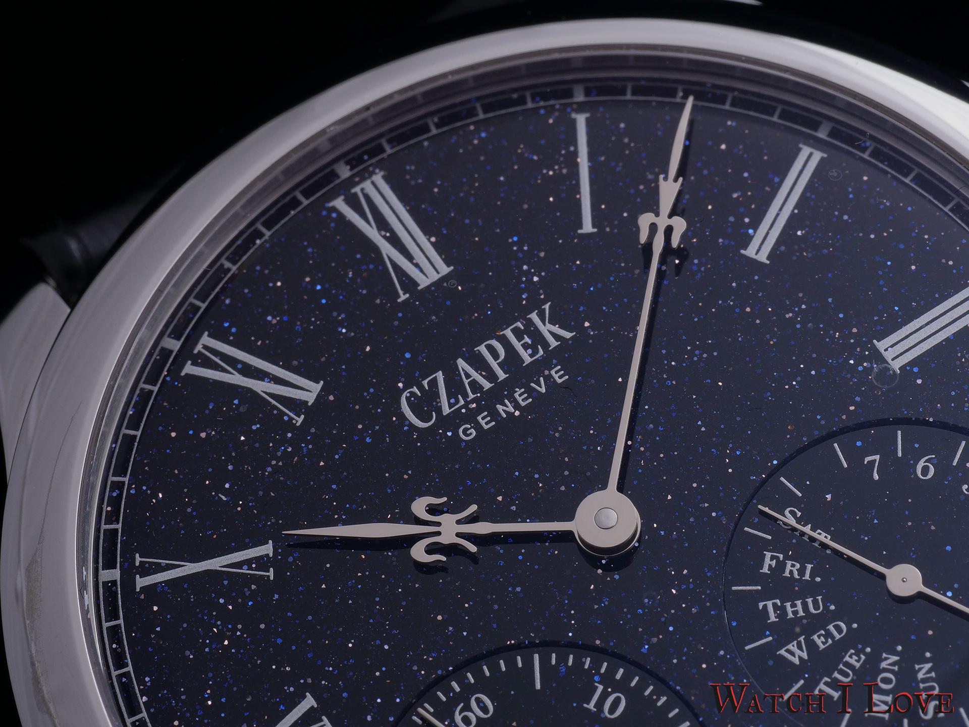 Czapek Midnight in Geneva Dial detail