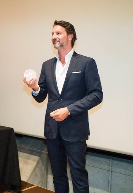 Maximilian Büsser was awarded the GAÏA PRIZE