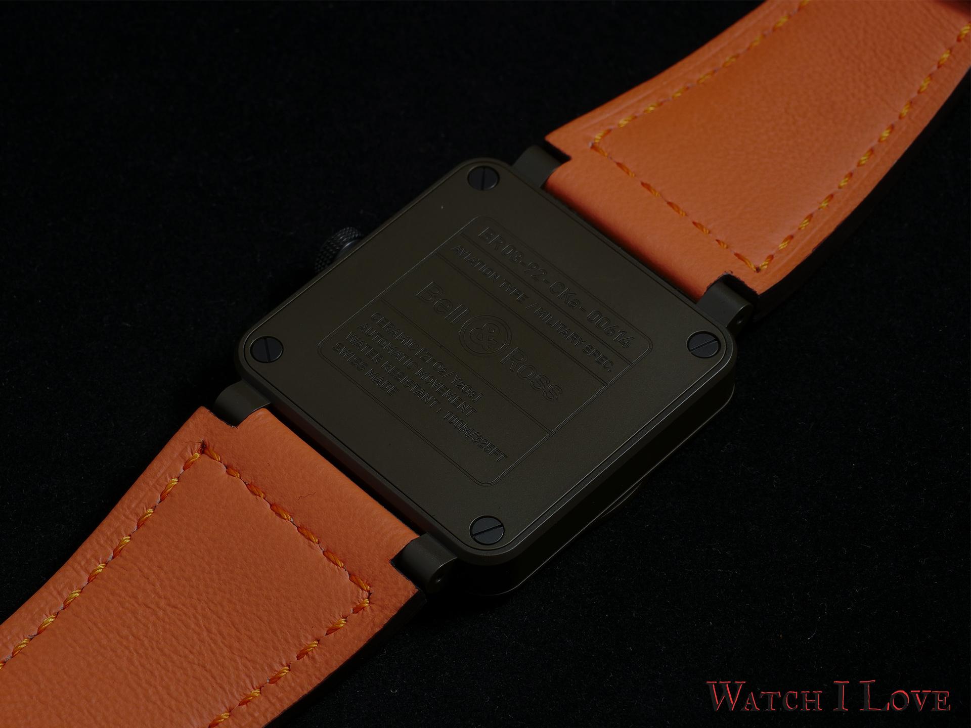Case back MA-1 watch