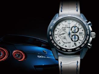 Grand Seiko SBGC229 and Nissan GTR