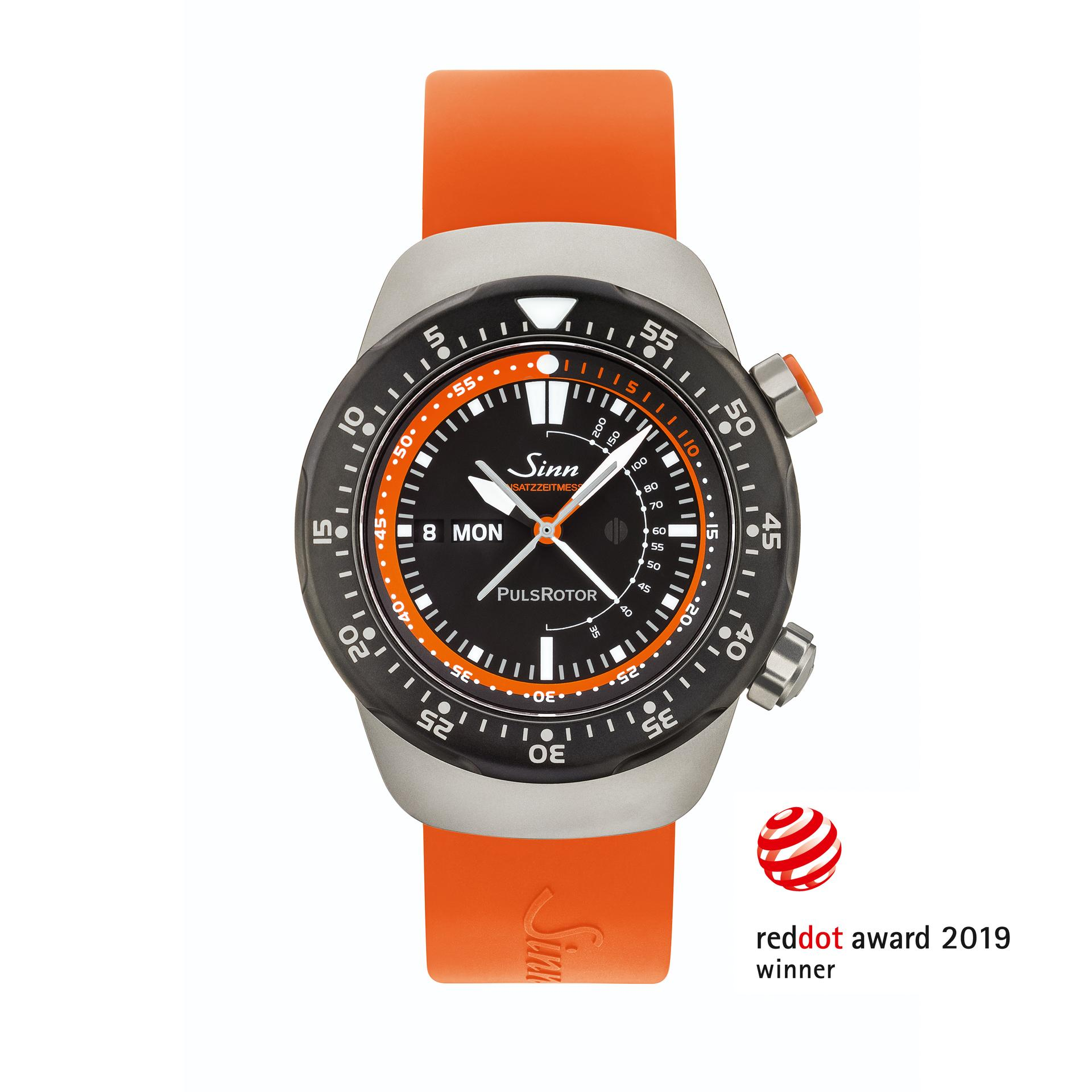 The mission timer Sinn EZM 12 received the Red Dot (picture courtesy of Sinn Spezialuhren GmbH)