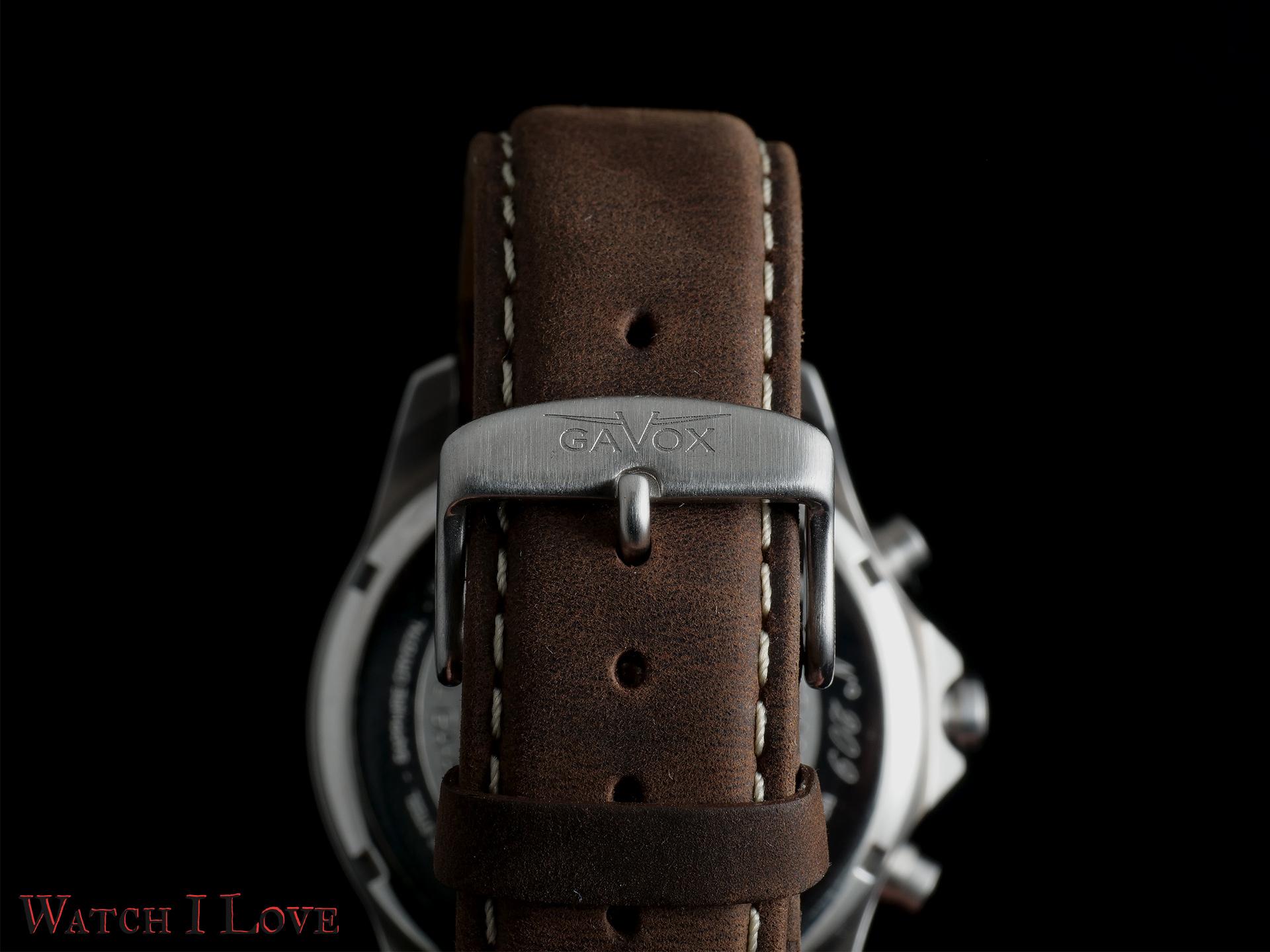 Gavox Aurora strap and buckle