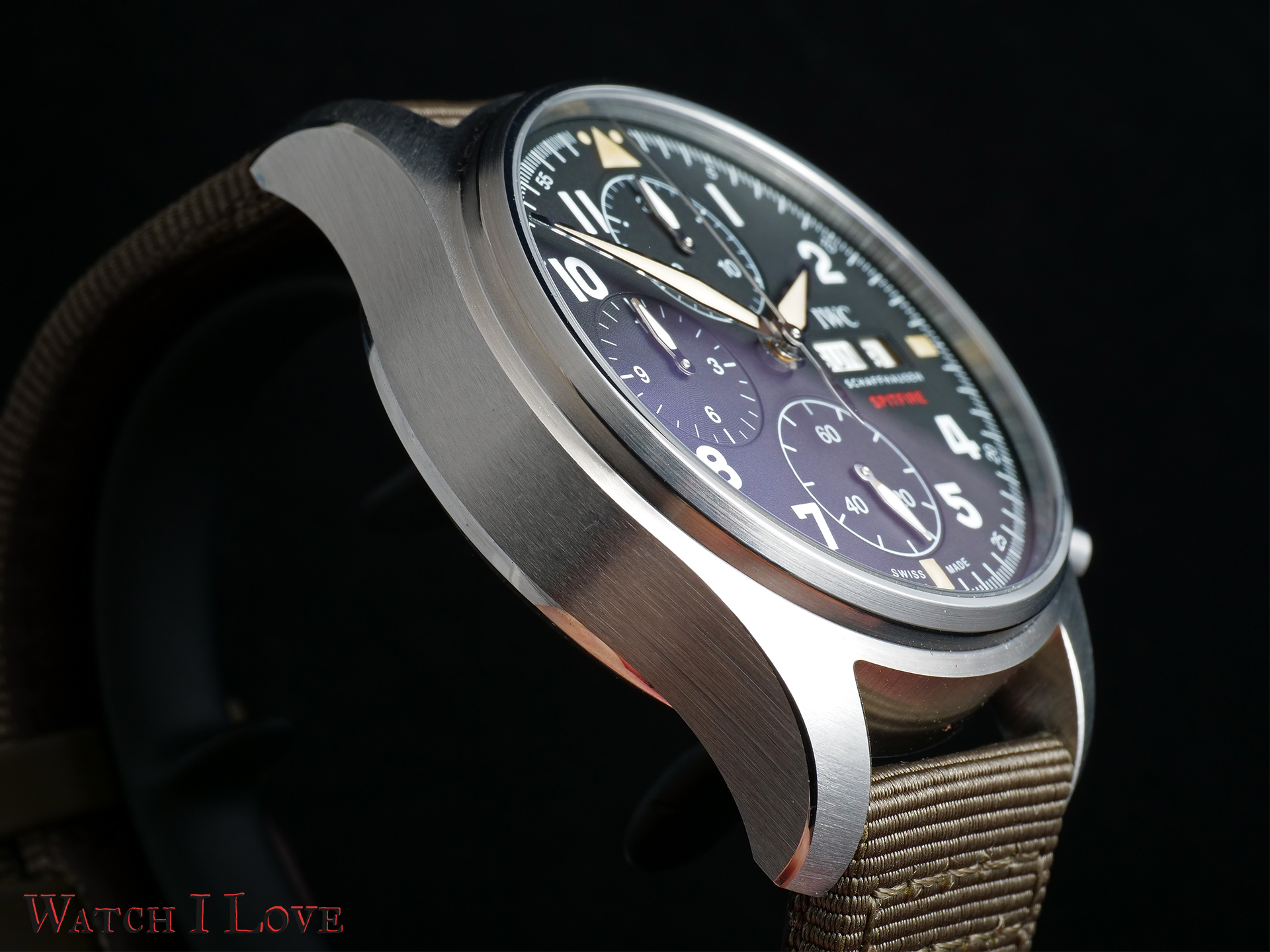 Spitfire Chronograph side view