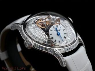Legacy Machine FlyingT Baguette diamonds edition oblique