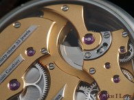 Romain Gauthier Micro-Rotor white gold limited editions back side
