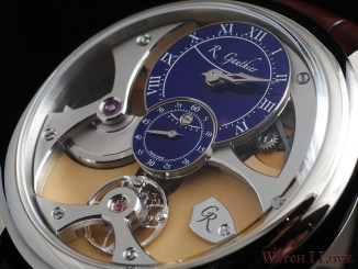 Romain Gauthier Micro-Rotor white gold limited editions