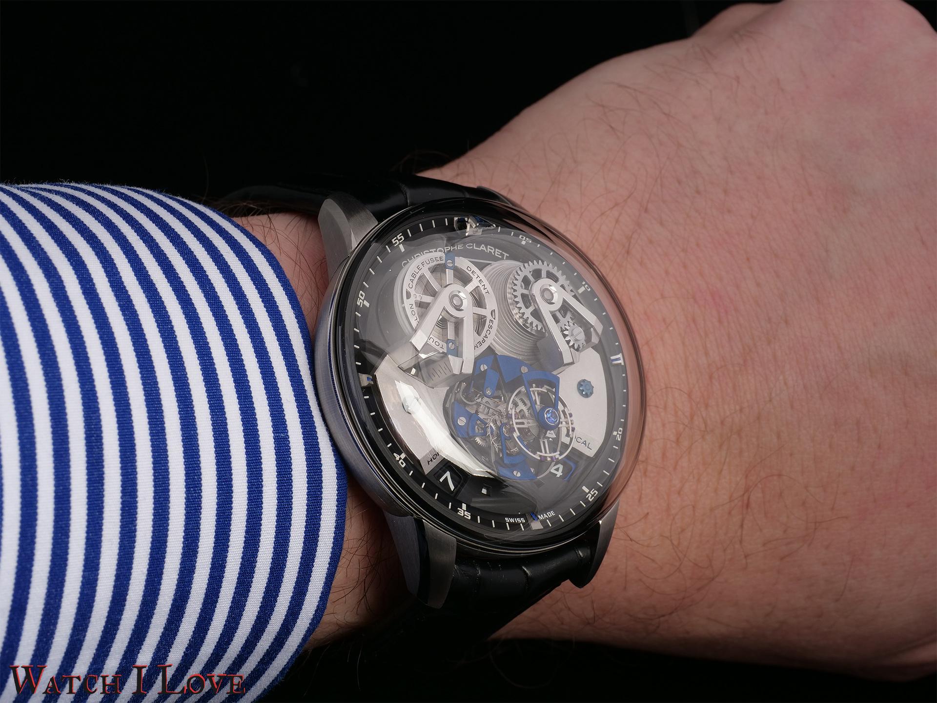 The watch felt smaller on my wrist.