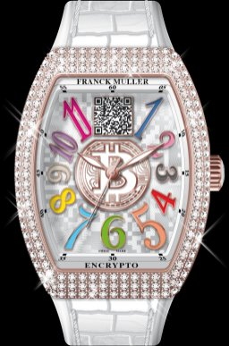 Franck Muller Encrypto Ladies