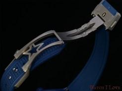 Titanium folding clasp