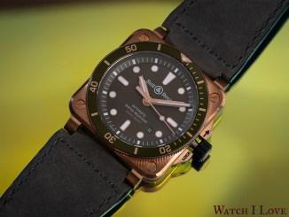 Bell&Ross BR03-92 Green Bronze Diver