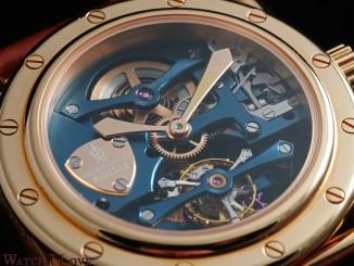 Manufacture Royale Androgyne Light Blue Rose Gold