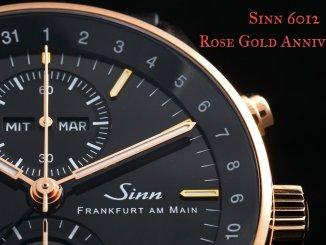 Sinn 6012 Rose Gold Anniversary
