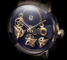 Ulysse Nardin Executive Tourbillon Free Wheel aventurine dial