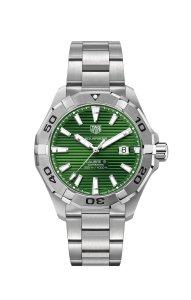 TAG Heuer Aquaracer Gents Green Dial Ref. WAY2015.BA0927
