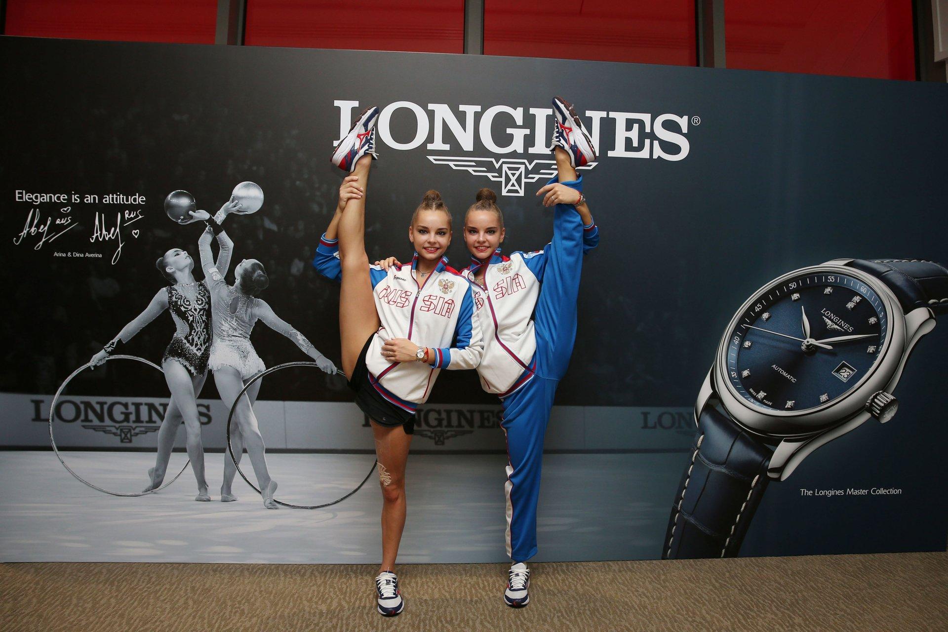 Longines Ambassadors of Elegance Arina and Dina Averina