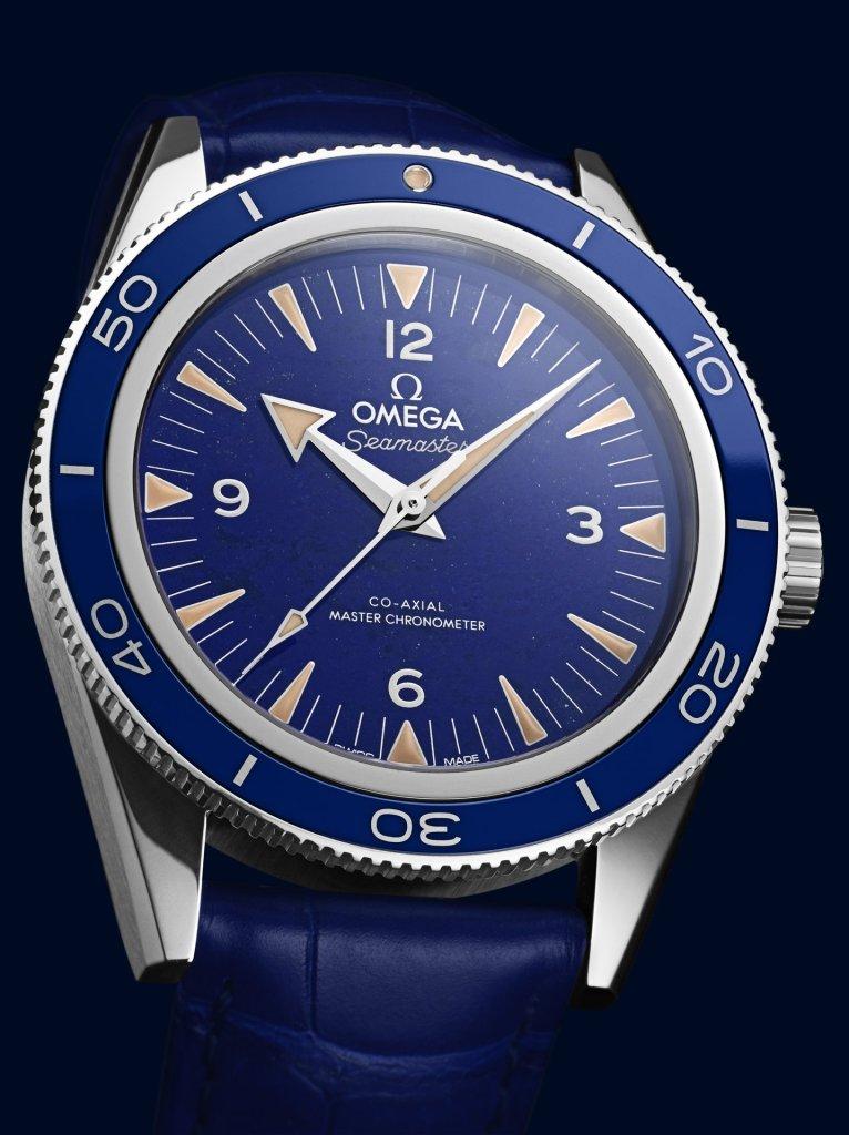 Omega Seamaster 300 Lapis Lazuli