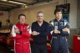 Peter Mann, Ricardo Guadalupe and Simon Mann