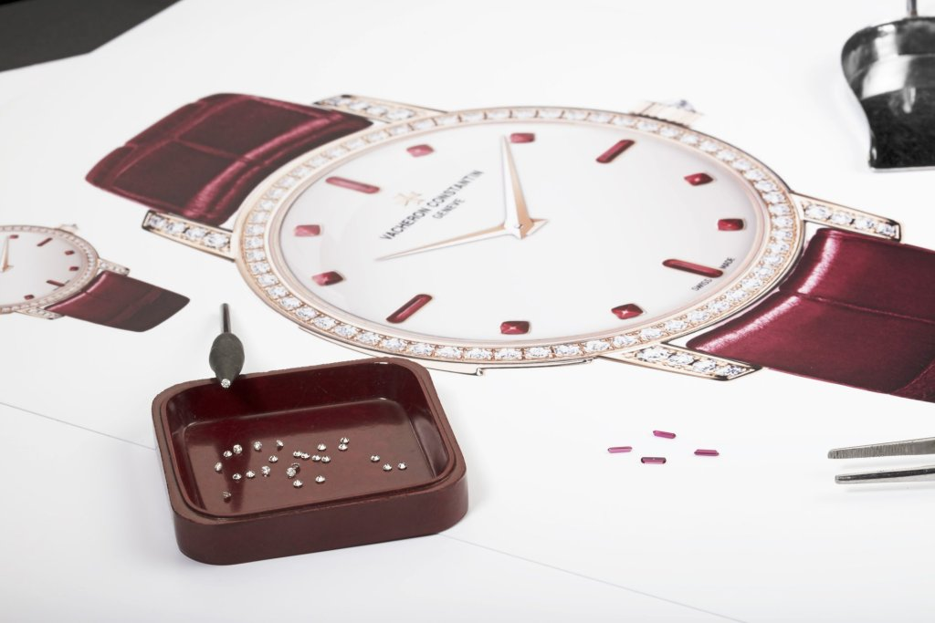 Vacheron Constantin Les Cabinotiers Minute repeater ultra-thin - The dance of gemstones