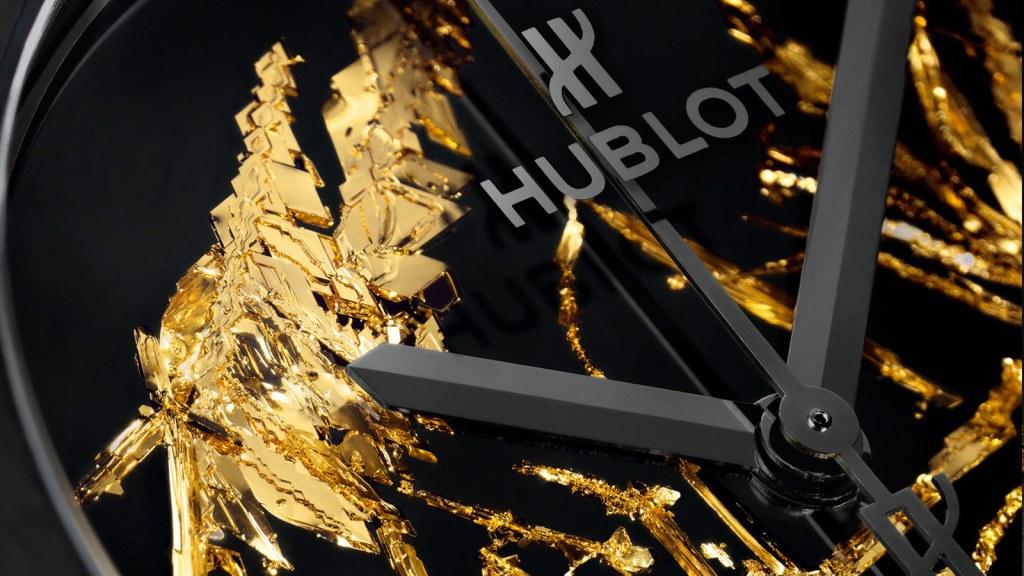 Hublot Classic Fusion Gold Crystal