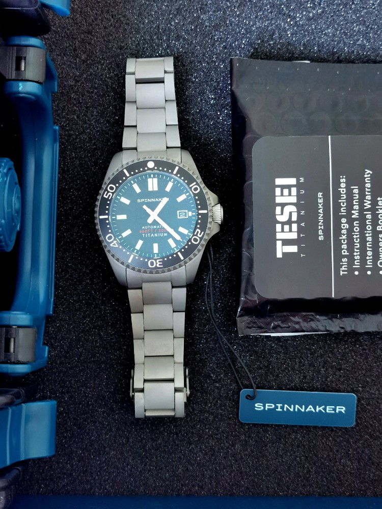 Spinnaker Tesei Titanium SP-5084-11 Featured Image